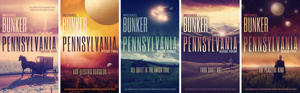 The Pennsylvania lineup, installments 1-5. (Click to enlarge.)