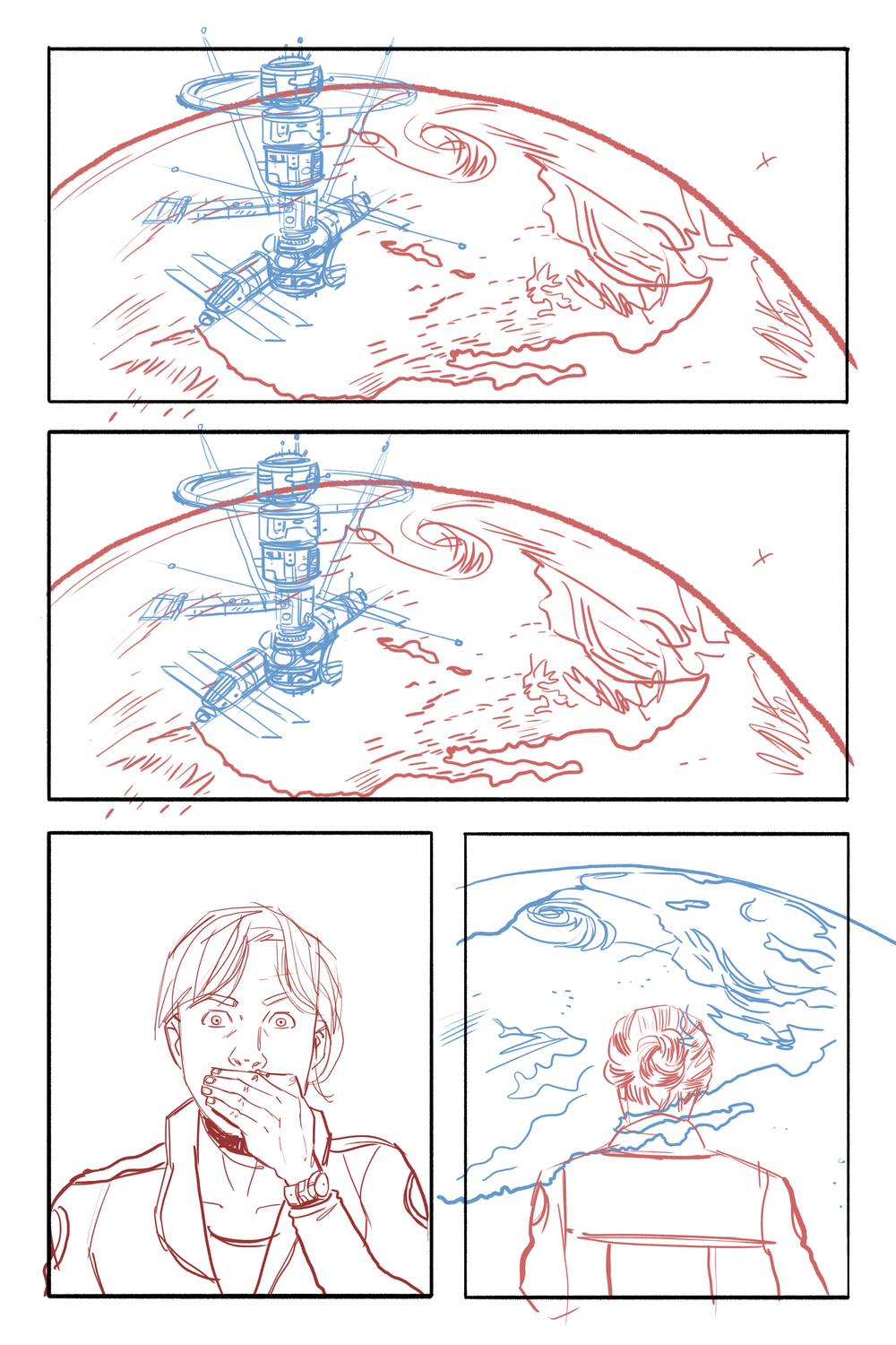 More layouts. I think this would have been a beautiful page.