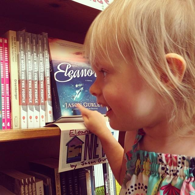 """Squish saw it almost before I did, and said, """"Daddy's book!"""" And then she said, """"We have to go find the pony books."""""""