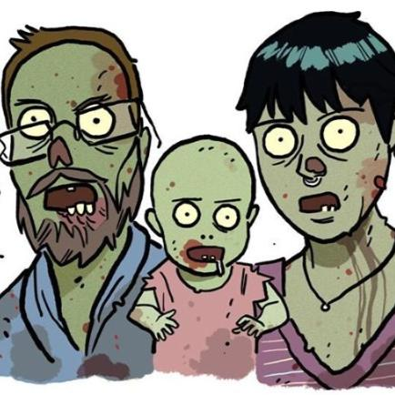 Green zombie Gurleys!