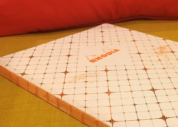 Rhodia Heritage book block composition notebook