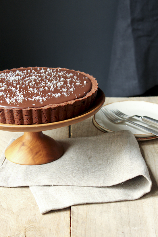 salted caramel chocolate tart-3