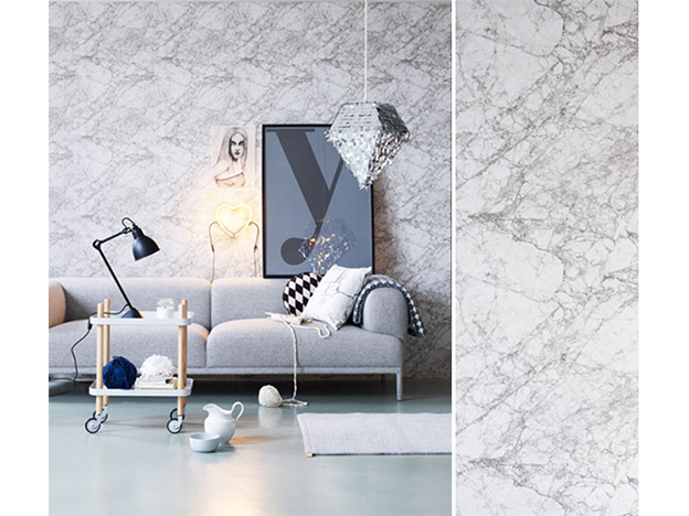 Marble Wallpaper - also available in pink - $80/roll