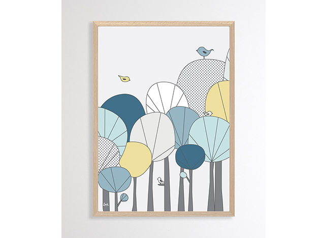 Happy Forest Illustration - $47
