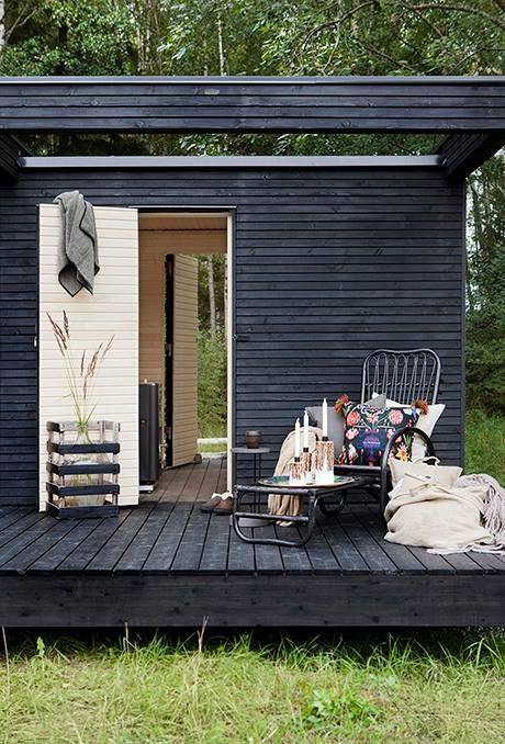 The Scandinavians With Their Love For Outdoor Wood Burning Saunas Have  Great Examples Of Simple, Rustic Outbuildings That Work Equally Well As  Garages.