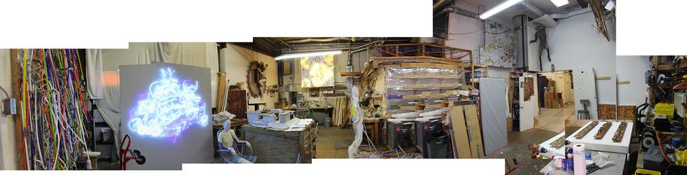 Craig's studio.