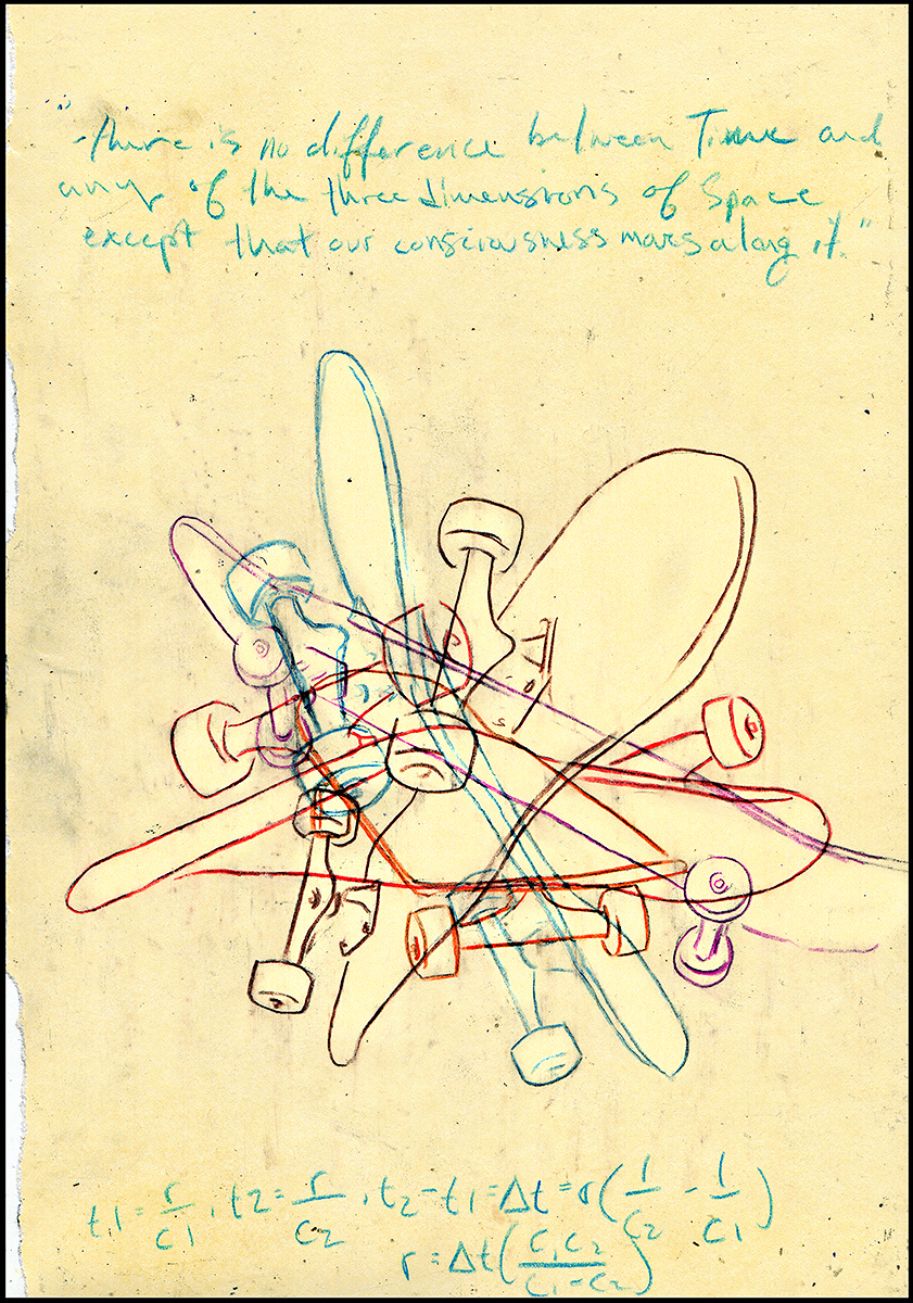 James' sketch. (2013)