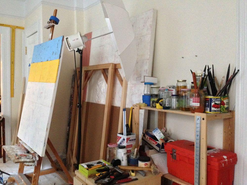 Matthew's studio.