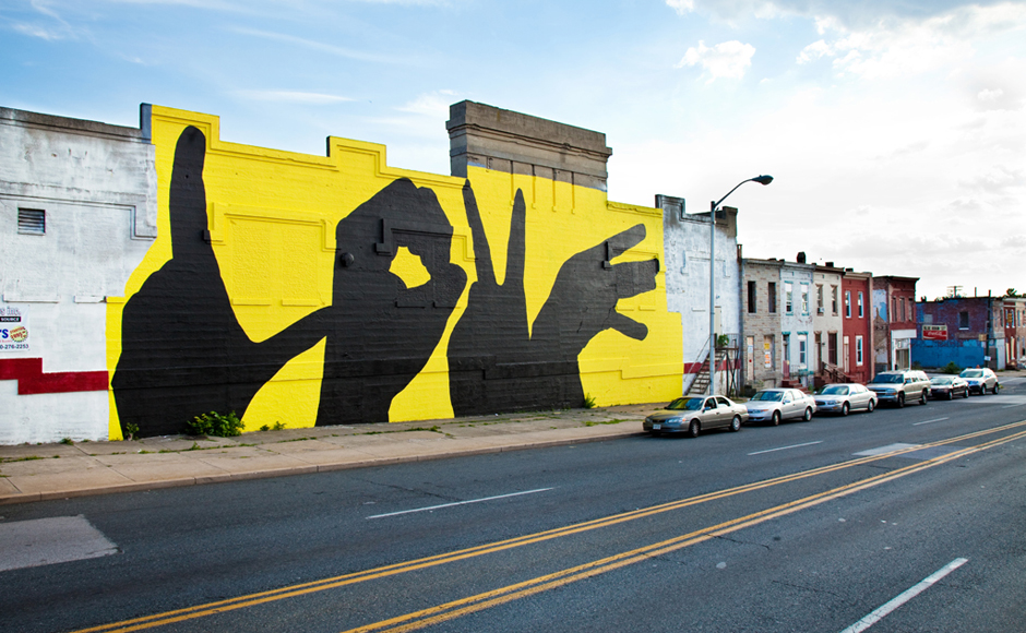 Baltimore Love Project. Multiple Locations. 2008- Present.