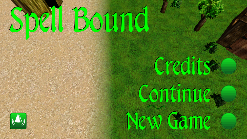 Spell Bound Title Screen