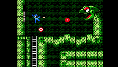 Mega Man.  Small.  Deep.  Interconnecting.