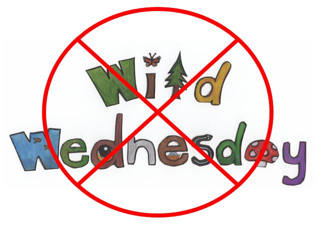 Wild Wednesdays are postponed until the forest travel ban is lifted.