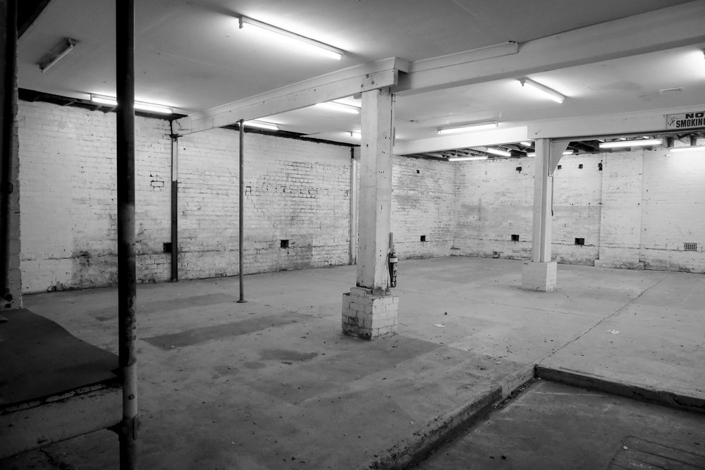 Image of the workshop space as it is now