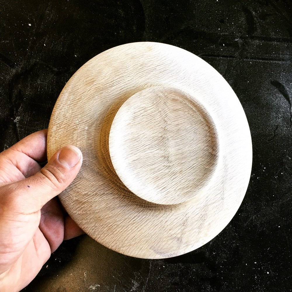 Turned Plate (back)