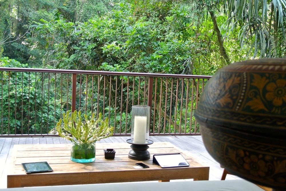 Alila Ubud Tree top villa