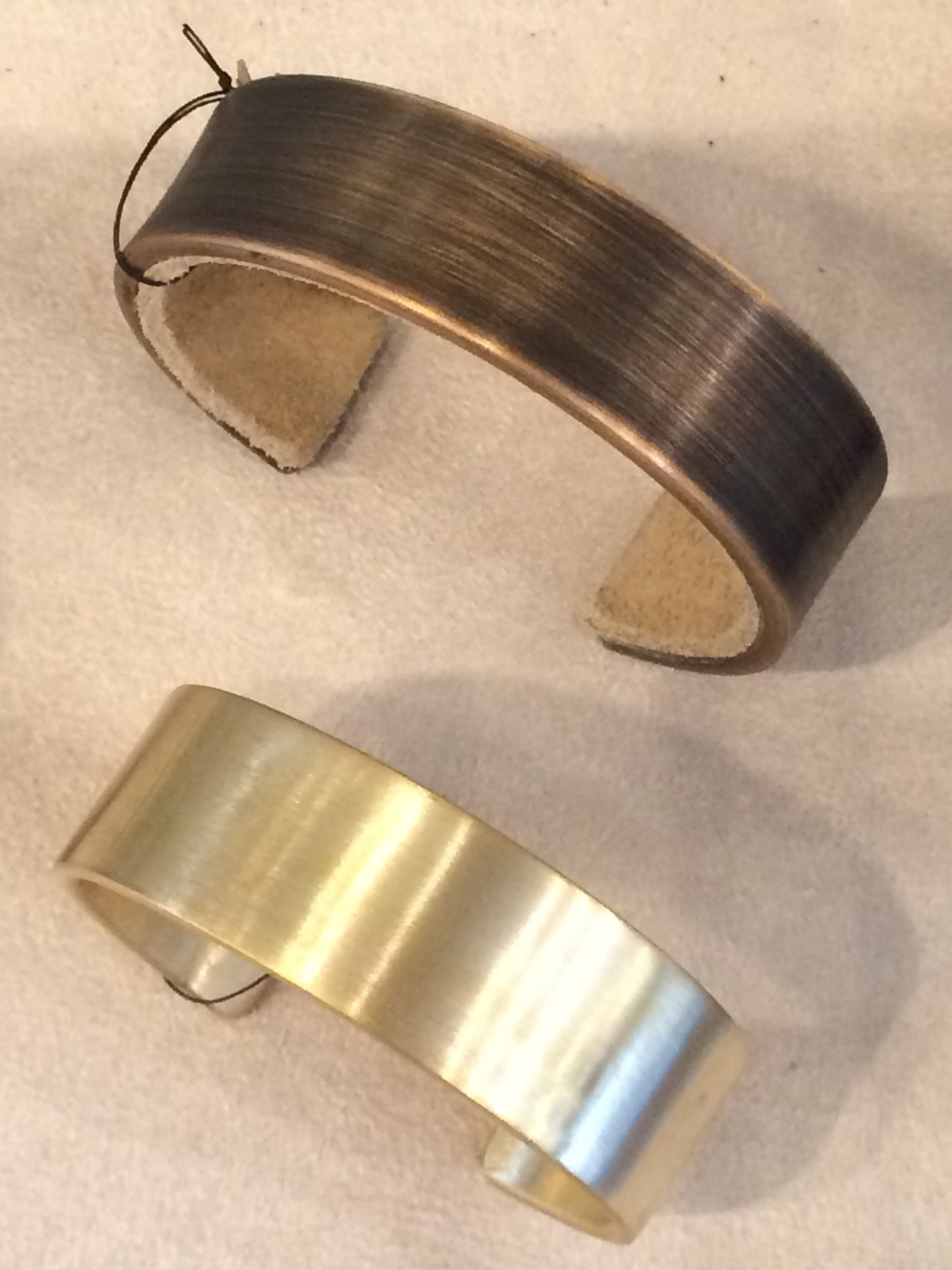 Bronze Cuffs by L.A. arcitects Marmol Radziner.