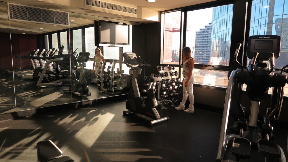 Exploring the Gym and Pool at The InterContinental Melbourne The Rialto - Time to workout!