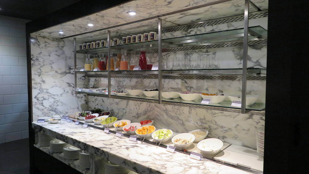 One section of the most incredible healthy breakfast buffet at The InterContinental The Rialto Melbourne
