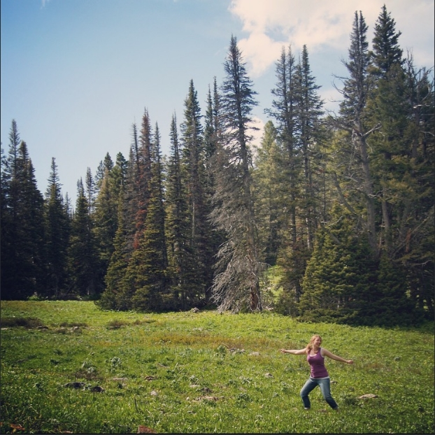 My self care practice makes feel like I'm frolicking through a mountain meadow.