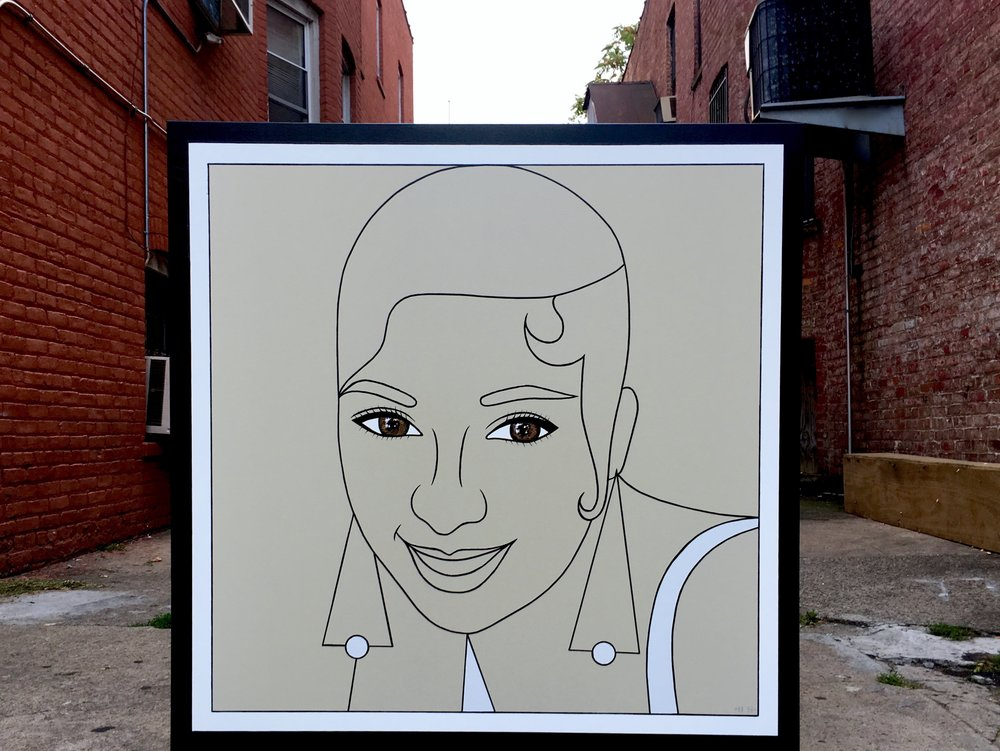1- Josephine Baker, Brand Us Art, 48 x 48 incehs (1).jpg