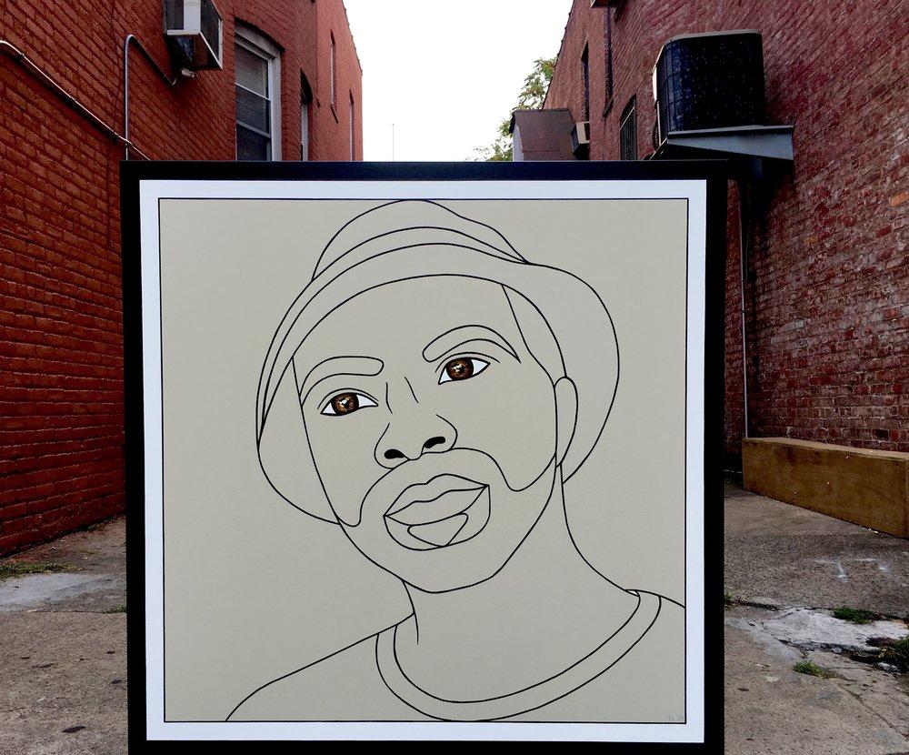 1- Kahlil Joseph, Brand Us Art, 48 x 48 incehs (1).jpg