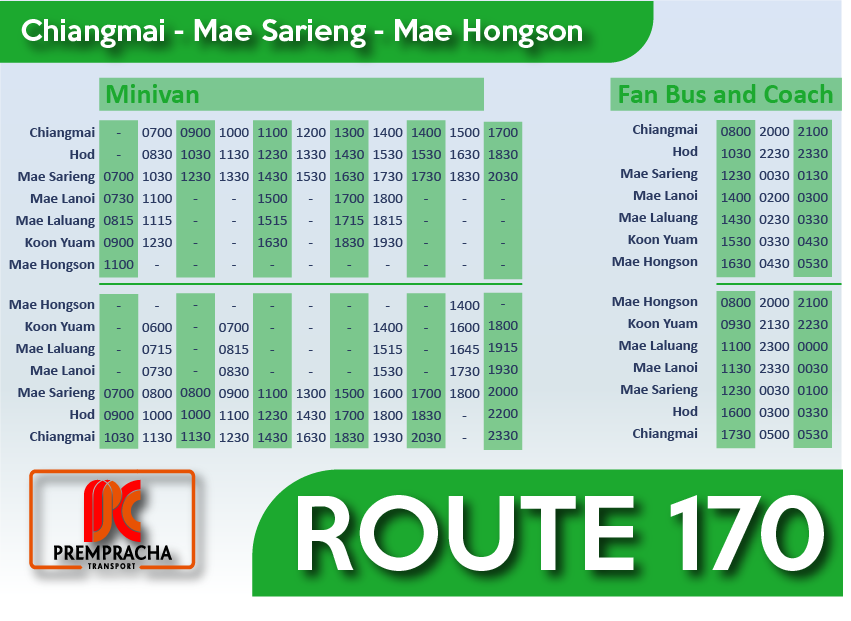 timetable170