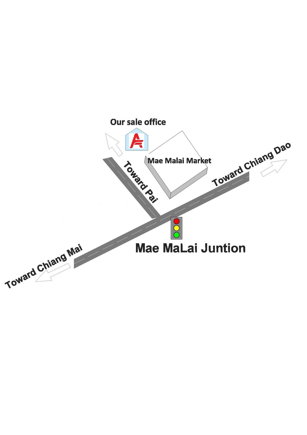 Mae Ma Lai bus stop search Google Map 19.094183, 98.935065