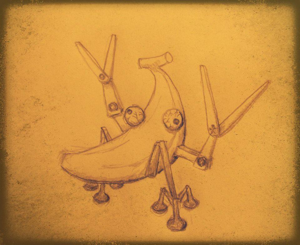 Robot Banana