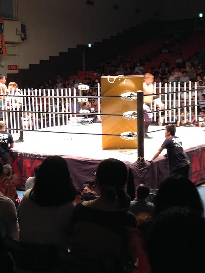 Insert something amusing/clever about death matches in Japan here. Stranglemania jokes are fine.