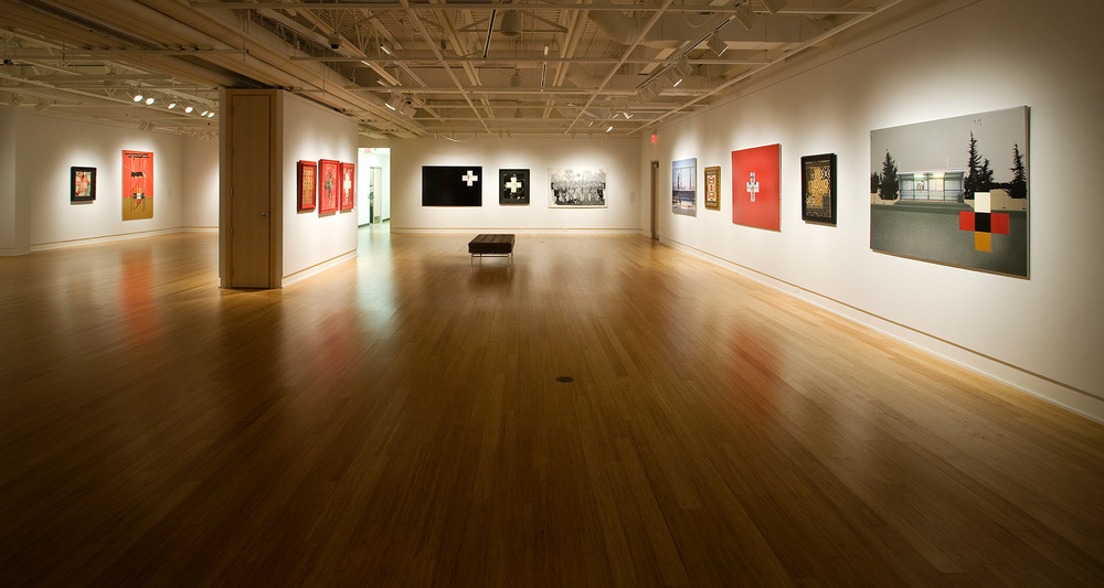 The Wordless Book and other deserts, 2012  Installation view Gallery @501, Sherwood Park, Alberta, Canada