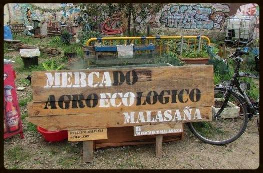 Mercado Agroecológico de Malasaña, en la calle Antonio Grilo 8, de 11 a 14:30 horas