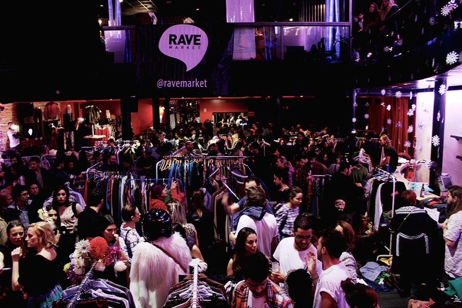 Rave Market, domingo 31 de enero, de 12 a 21 horas, calle Toledo, 86 (La Latina)