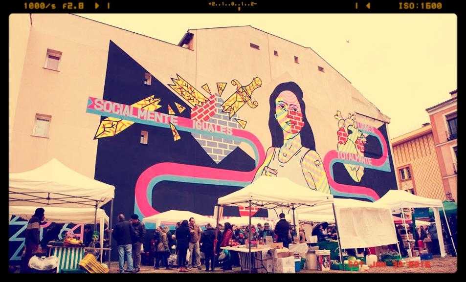 Mercado de La buena vida, de 10 a 16 horas, en calle Embajadores, 18