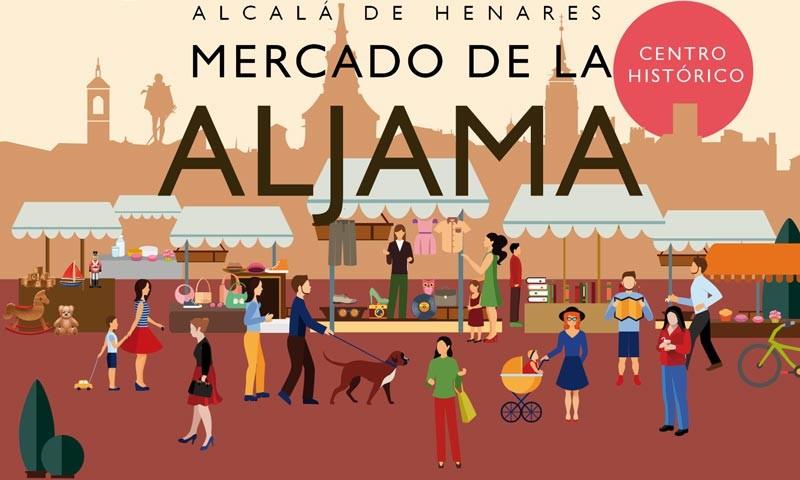 En el Centro Histórico de Alcalá de Henares, de 10 a 20 horas