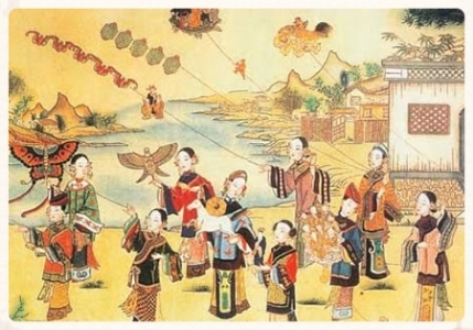 Fly Kites - Customs of Qingming Festival.jpg