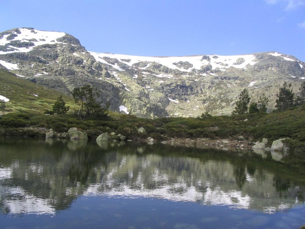 Laguna de Peñalara, en el Parque Nacional de Guadarrama