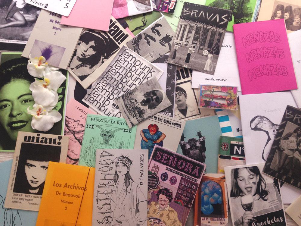 Nos inspiraremos en el movimiento fanzinero, contracultural e independiente, para crear carteles libres, artísticos y comunicativos.