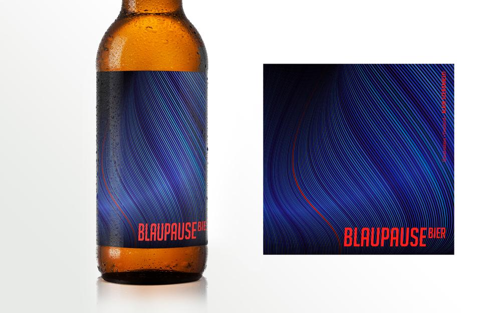 Blaupause Bier