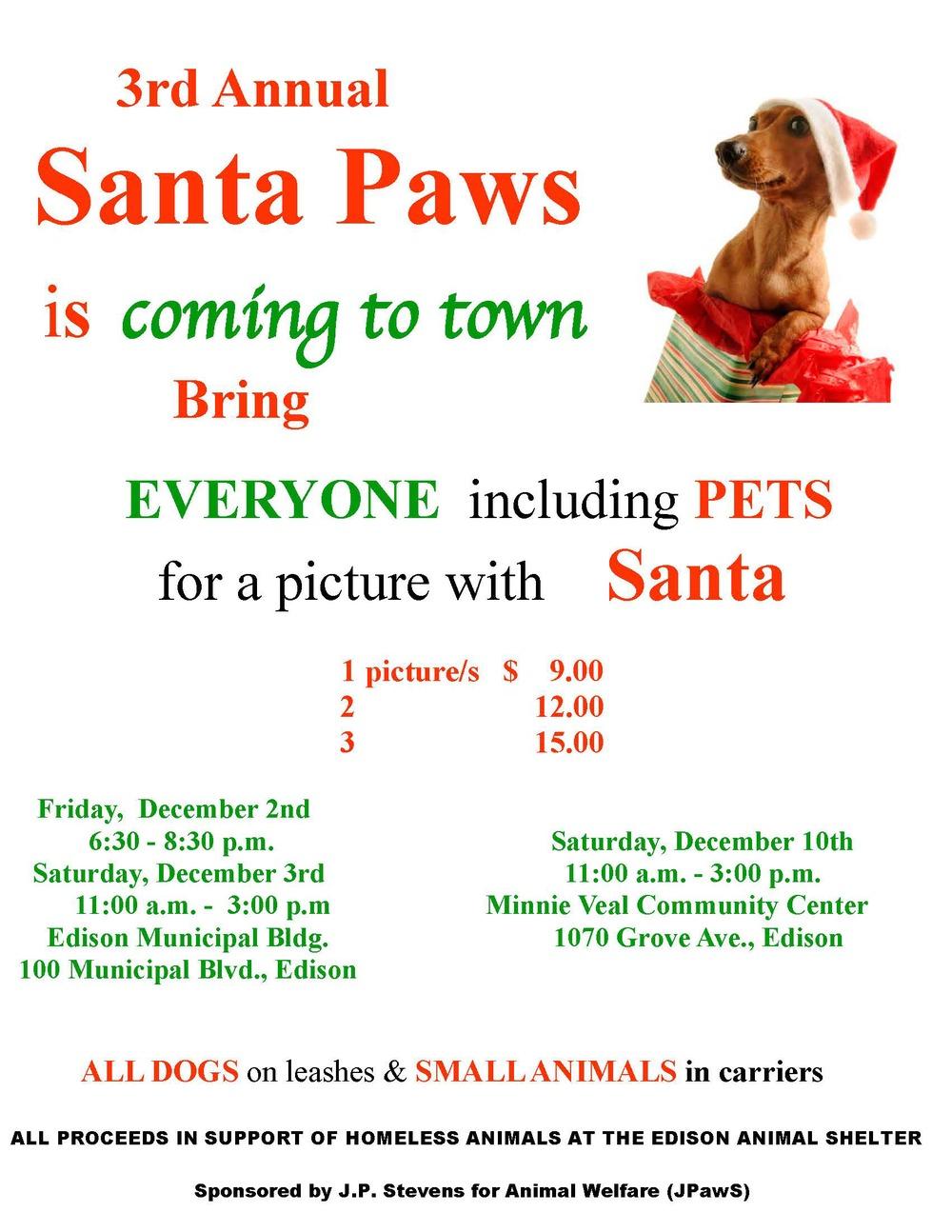 Santa Paws 2011!