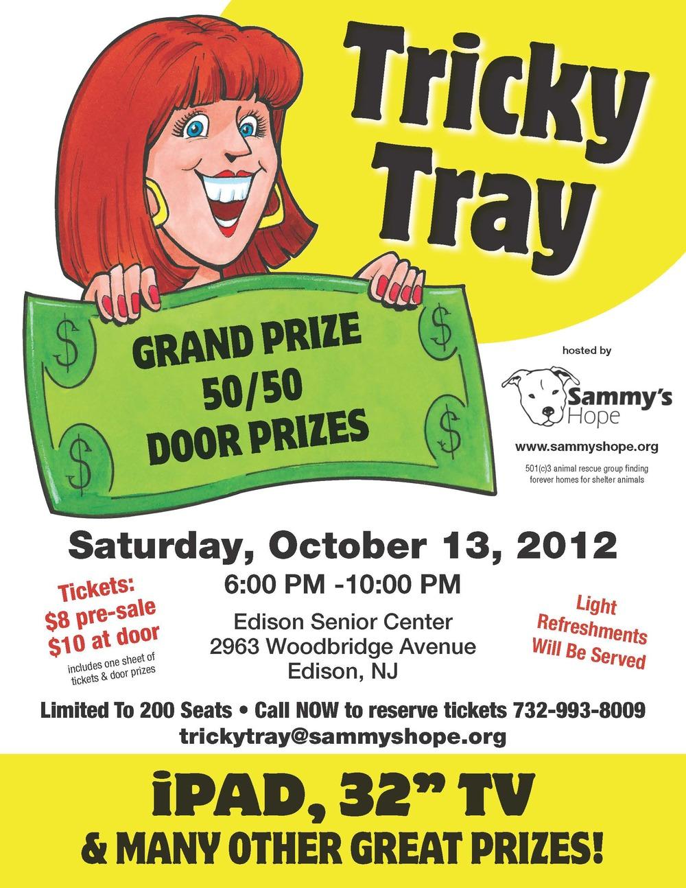 Tricky Tray Flyer