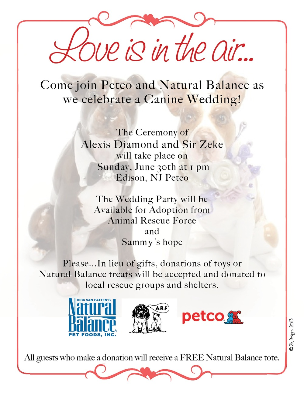 Join us for the Wedding!