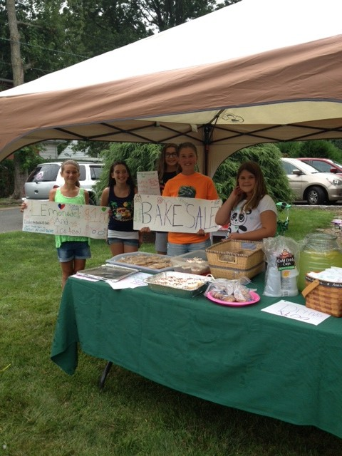 Bake Sale for Sammy's Hope!