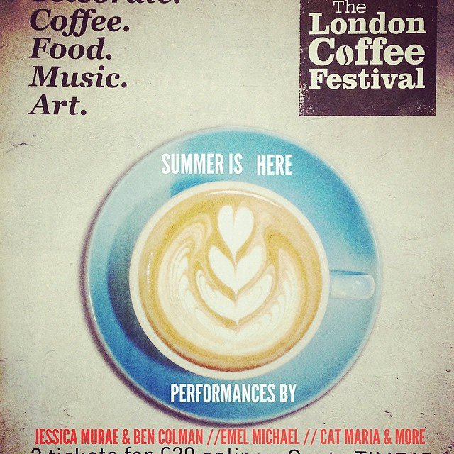 @coffeemusicproject #coffeefestival #music #show #acoustic #london #shorditch #cool #coffee #festival  24th April!