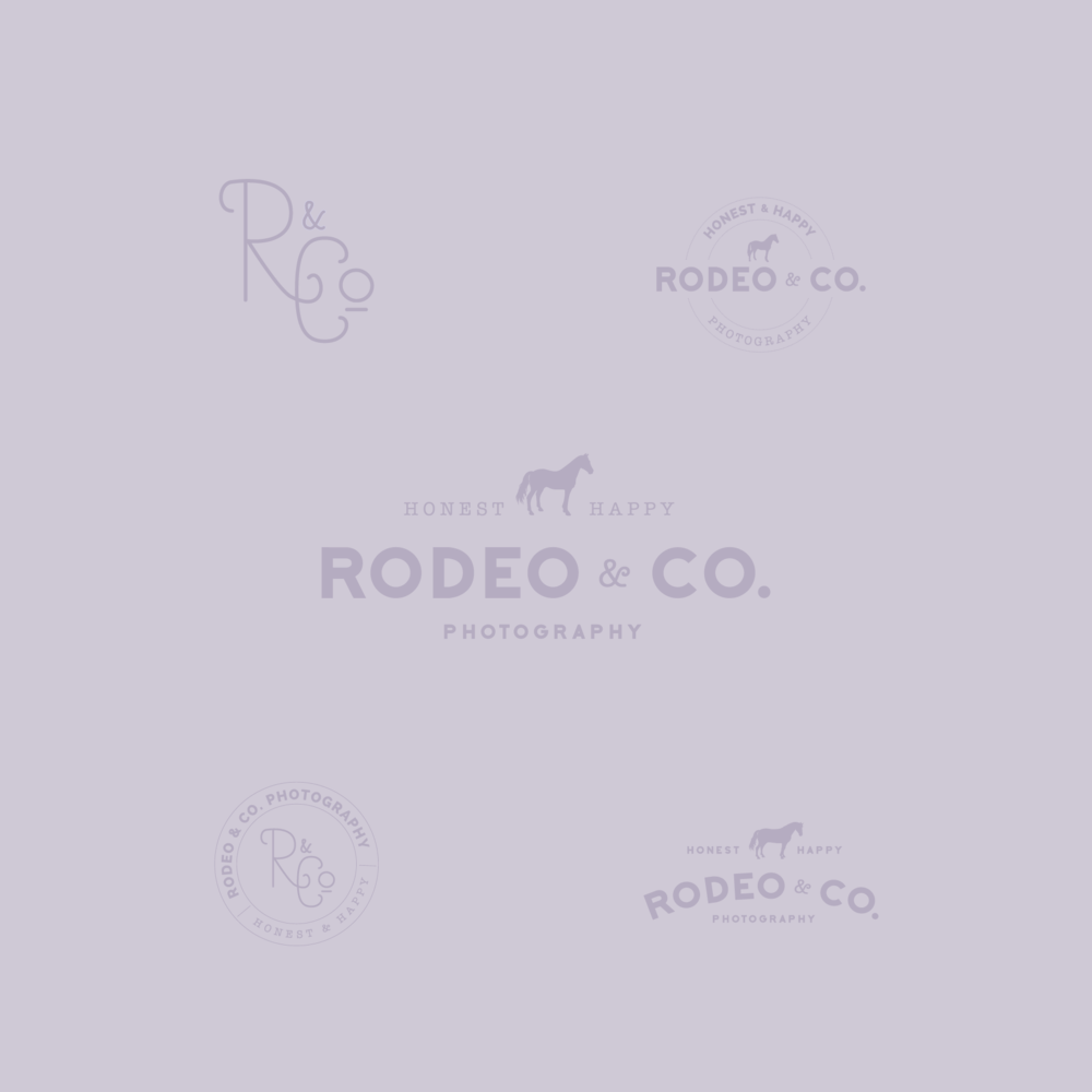 Rodeo & Co. Photography Logo Design