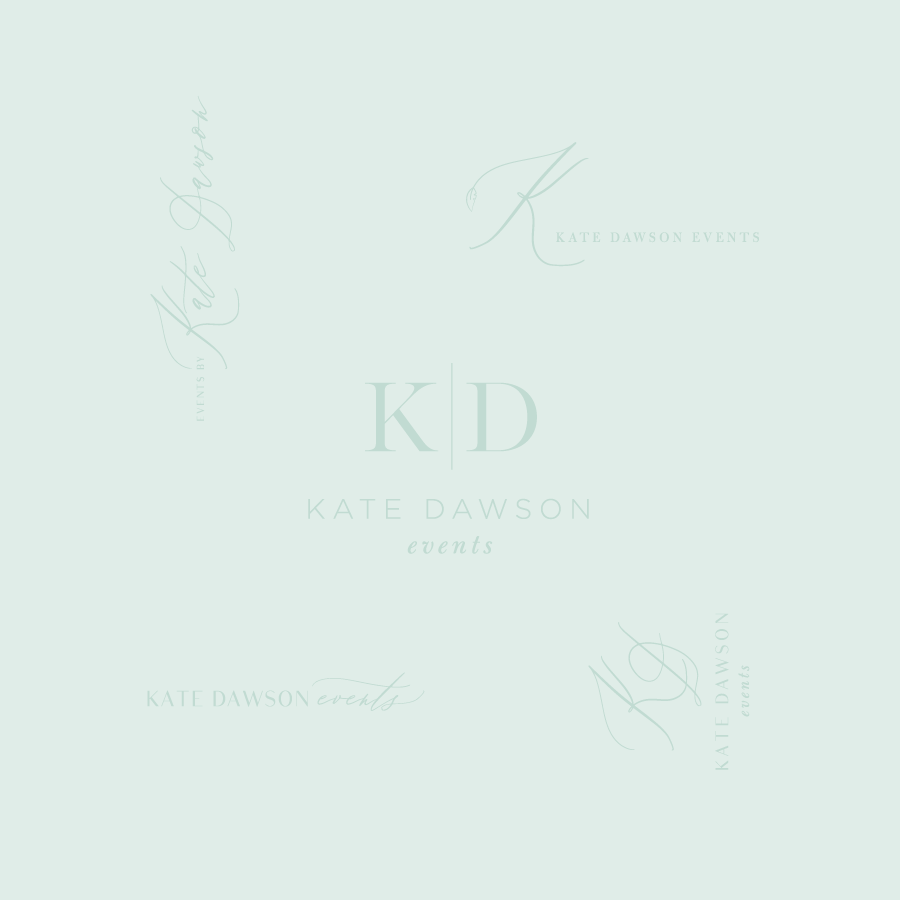 Kate Dawson Events Logo Design