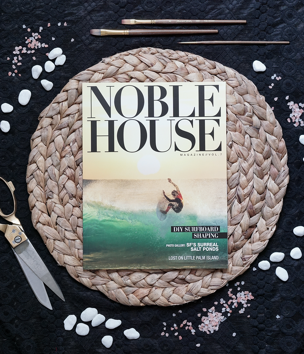 Cover and Feature Layout: Noble House Magazine. Evaporating Art