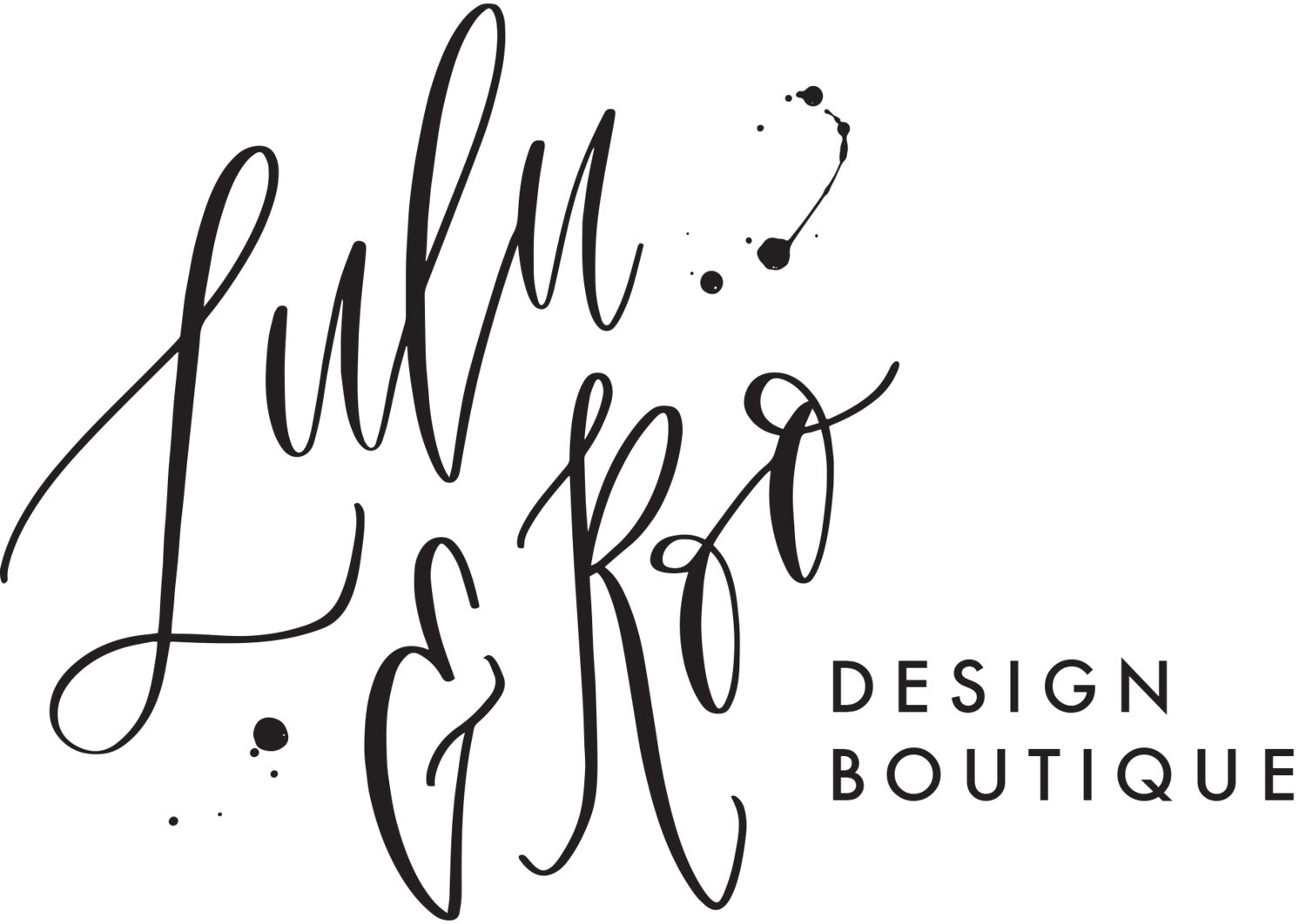 Creative Agency Portfolio — Lulu & Roo Design Boutique