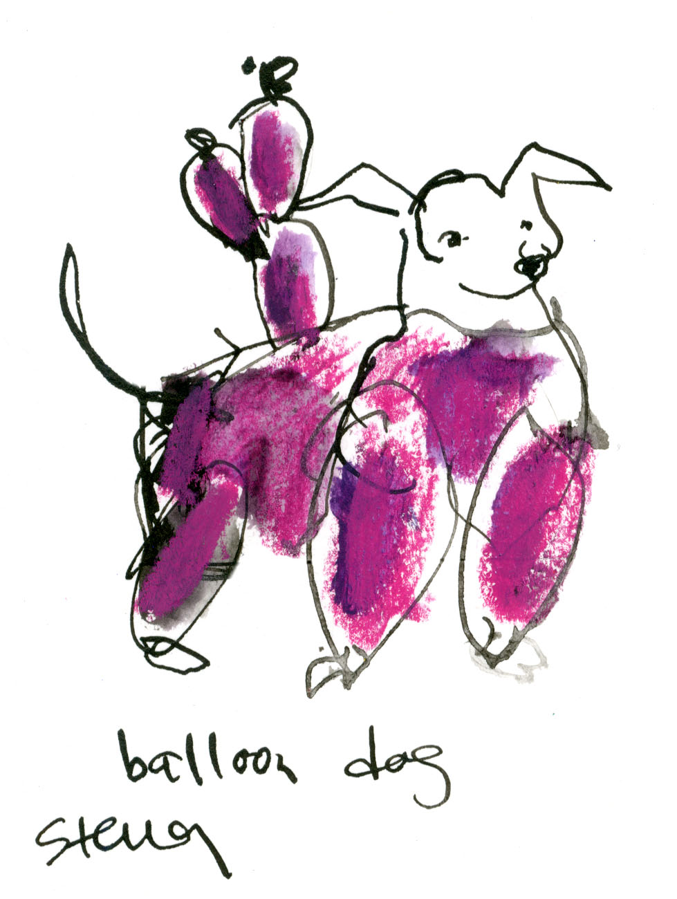 Balloon dog! © Carly Larsson 2014