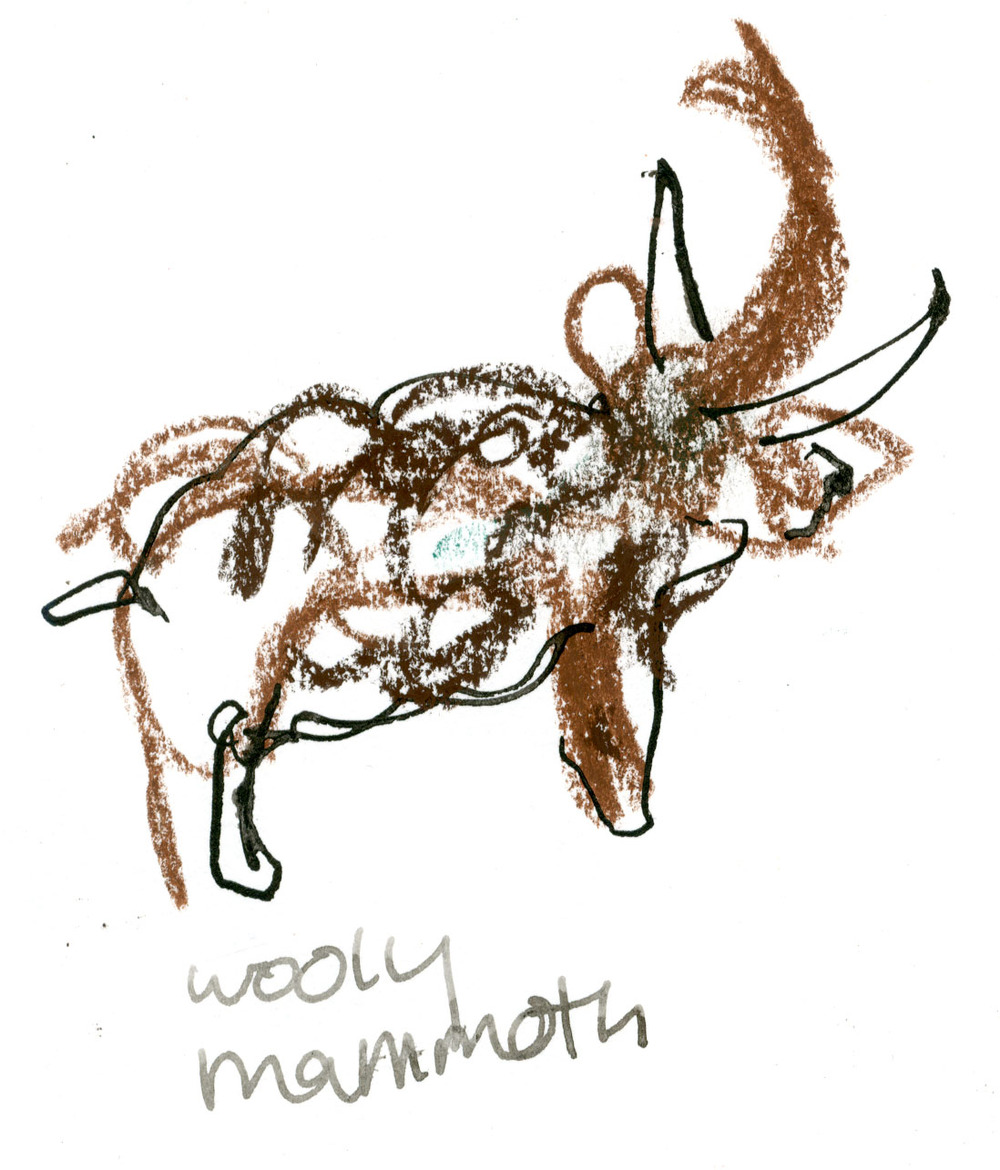 Wooly mammoth dog © Carly Larsson 2014