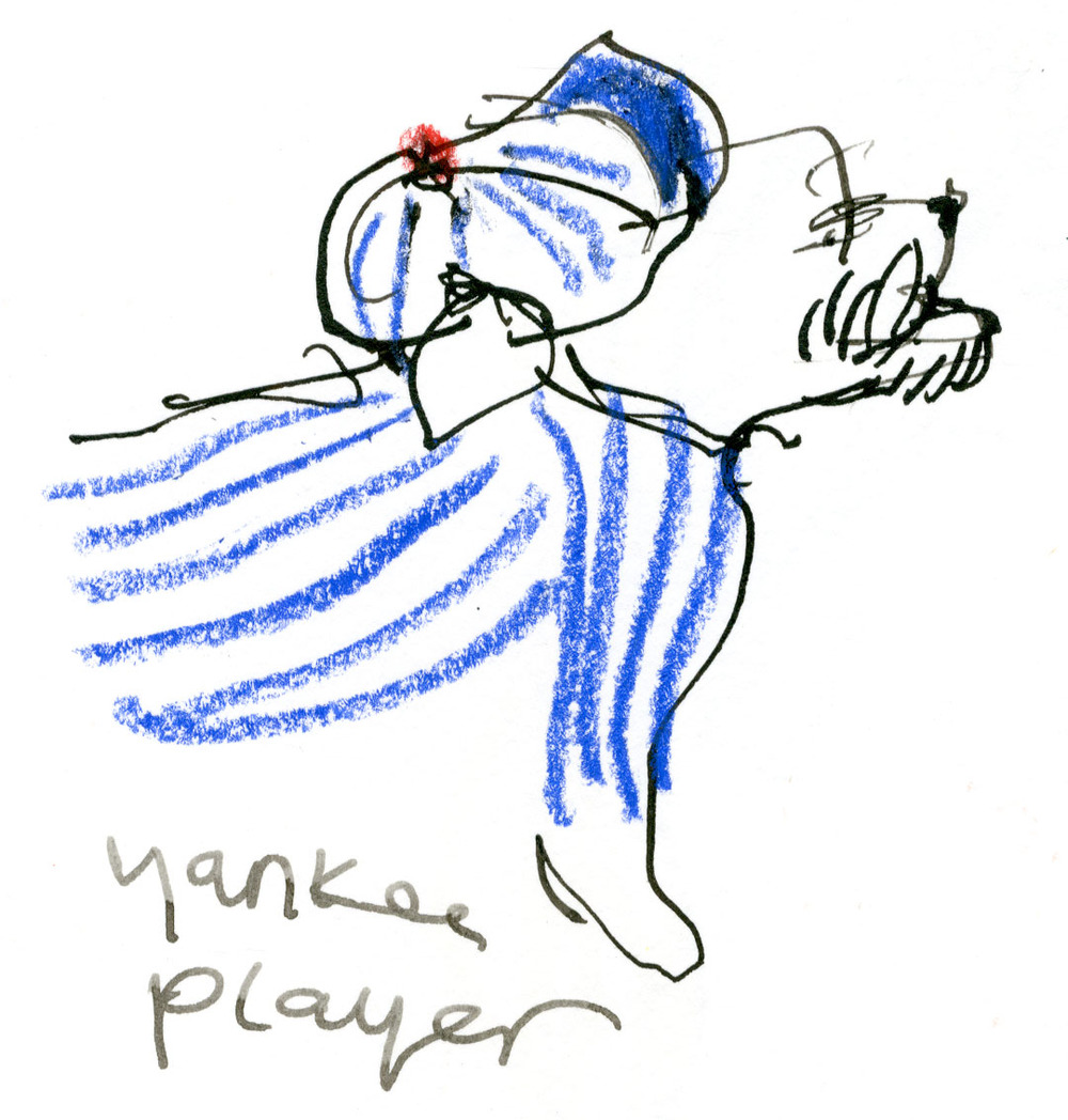 Yankees player dog © Carly Larsson 2014